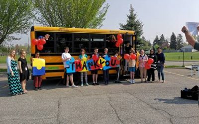 Bus Donation from Gregg Distributors
